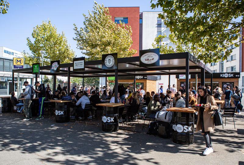 food court kiosque novakube