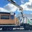 transport module préfabriqué Courcelles