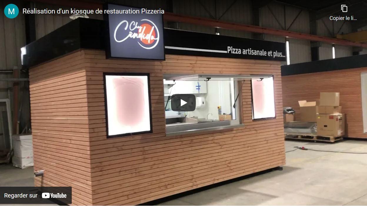 video ckiosque pizza