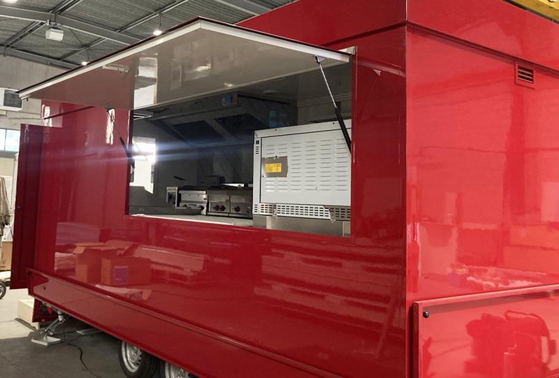 novakiosk kiosque mobile foodtruck